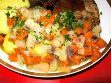 Kohlrabi - Möhrengemüse - Rezept