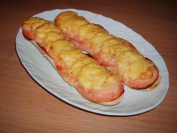 Birnen-Baguette - Rezept