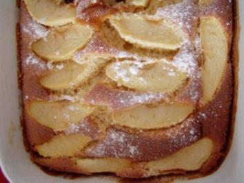 Gebackener Apfelauflauf - Rezept