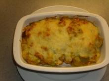 Überbackenes: Porree - Toast mit Käse - Rezept