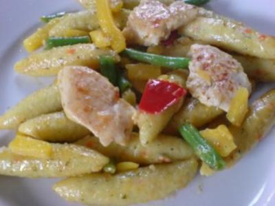 Schupfnudel-Gemüse-Pfanne - Rezept