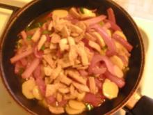 Asia-Gemüse mit Fleischersatz - Rezept