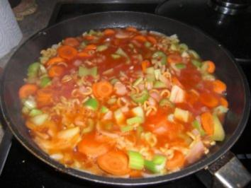 Nudel-Gemüse-Eintopf - Rezept