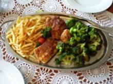 Parmesanschnitzel mit Brokoli - Rezept