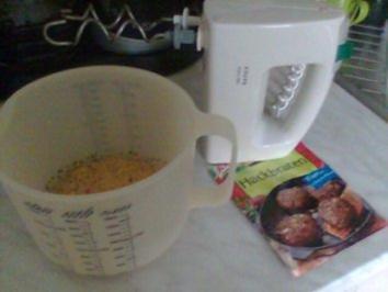 Hackfleischklößchen in Senf-Sahnesauce! - Rezept