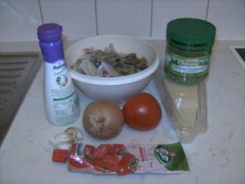 Meine Spagetti mit Meeresfrüchten - Rezept