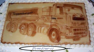 Rezept: Kakaomalerei Lkw