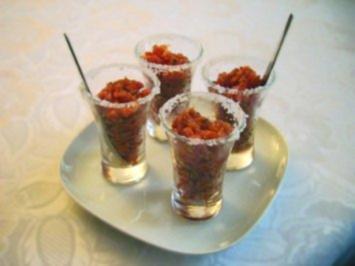 Wodka Tomaten Sorbet...... - Rezept