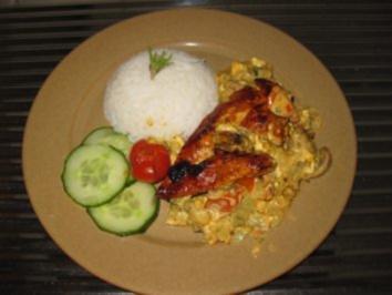 Meine gefüllten Hühnerbrüstchen - Rezept