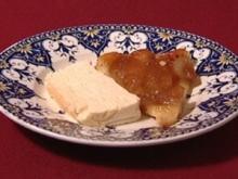 Tarte Tatin mit Vanilleeis - Rezept