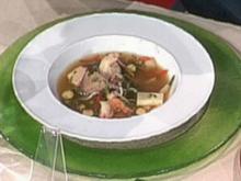 Japanische Fischsuppe mit Wasserkastanien á la Zacherl - Rezept