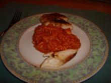 Tomatenrisotto mit Hühnchenfilet - Rezept