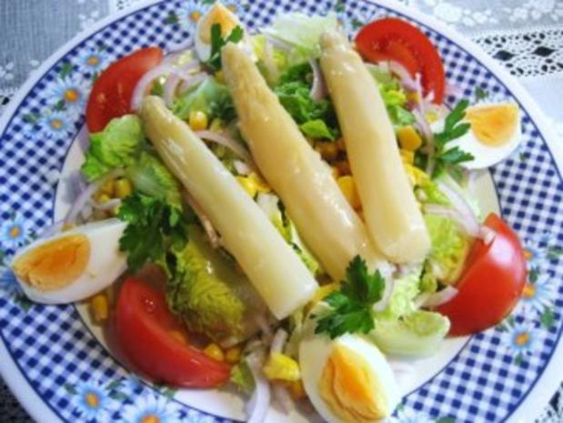 Salat zum Frühlings-Anfang  ... - Rezept