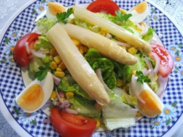 Salat zum Frühlings-Anfang  ... - Rezept - Bild Nr. 2