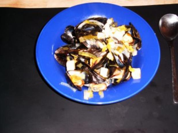 Muscheln auf rheinische Art - Rezept - Bild Nr. 3