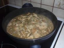 Fleisch: Putenrahmgeschnetzeltes mit Rösti - Rezept