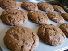 Schoko-Koko-Muffins mit Eierlikörkern - Rezept