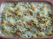 Auflauf herzhaft - Süss-Kartoffel-Auflauf mit Hackfleisch - Rezept
