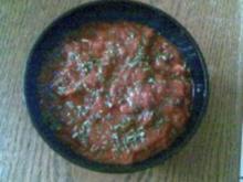 Tomaten- Zwiebel- Chutney - Rezept
