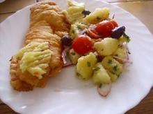 Backfisch ~ Bakaliaros - Rezept