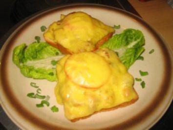 Brotzeit/ Snack: Deftiger Toast! - Rezept