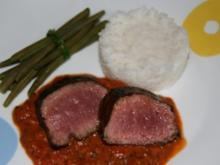 Lamm: Lamm in Kräutersoße - Rezept