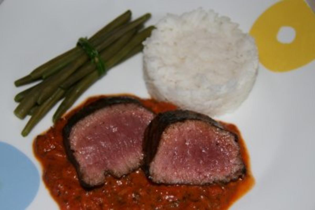 Bilder für Lamm: Lamm in Kräutersoße - Rezept