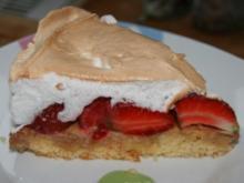 Kuchen: Erdbeer-Baiser-Torte - Rezept