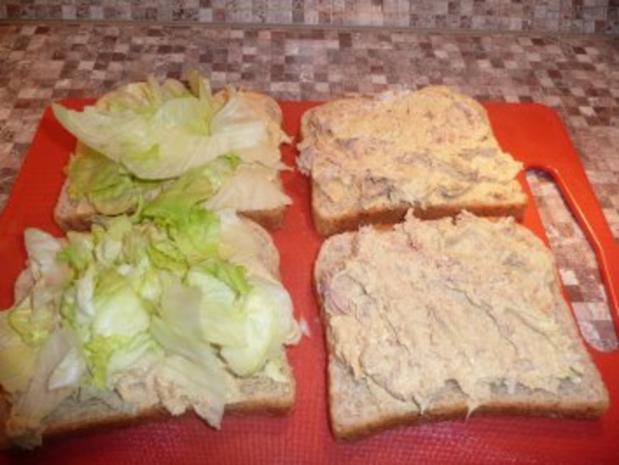 American Tuna Sandwich - Rezept - Bild Nr. 6
