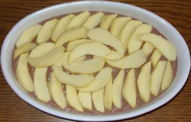 Auflauf süss - Apfel-Schokogriess-Auflauf - Rezept - Bild Nr. 5