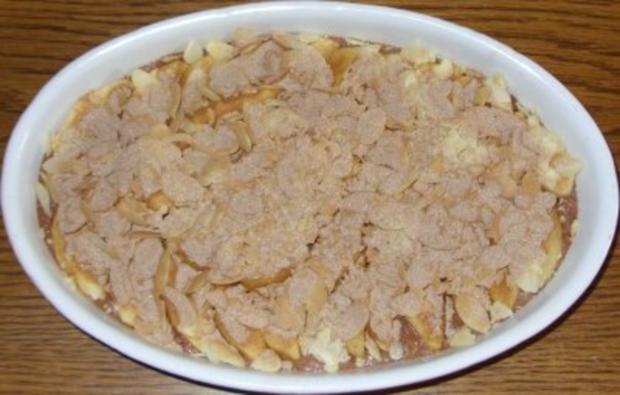 Auflauf süss - Apfel-Schokogriess-Auflauf - Rezept - Bild Nr. 7