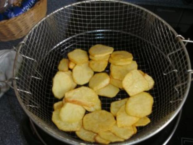 Fritierte Kartoffelscheiben......es müssen nicht immer Pommes sein - Rezept - Bild Nr. 3