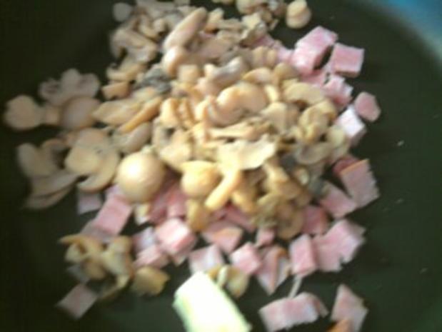 Zwiebel-Sahne-Pasta gratiniert - Rezept - Bild Nr. 5