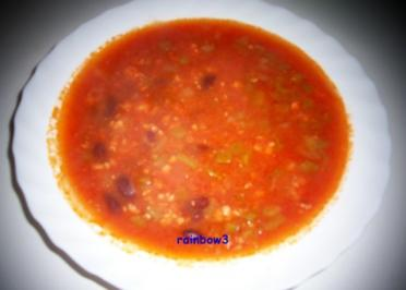 Kochen: Mexikanische Hackfleisch-Suppe - Rezept