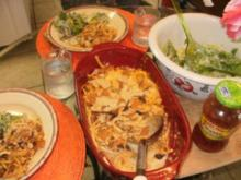 Taco Makaroni mit Kaese und Bratwursthack - Amerika trifft Mexico - Rezept