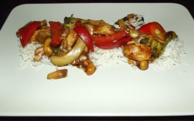 China-Gemüse mit Hähnchenbrust - Rezept
