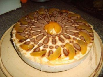 Aprikosen-Torte mit Schuss - Rezept