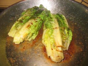 Beilage: Gebratene Salatherzen! - Rezept