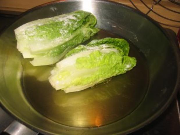 Beilage: Gebratene Salatherzen! - Rezept - Bild Nr. 2