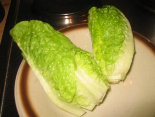 Beilage: Gebratene Salatherzen! - Rezept - Bild Nr. 3