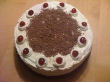G: Schwarzwälder Kirsch Torte - Rezept