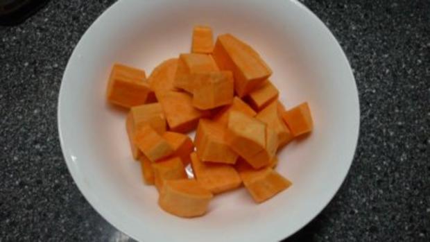 Süßkartoffel - Rahmsüppchen - Rezept - Bild Nr. 4