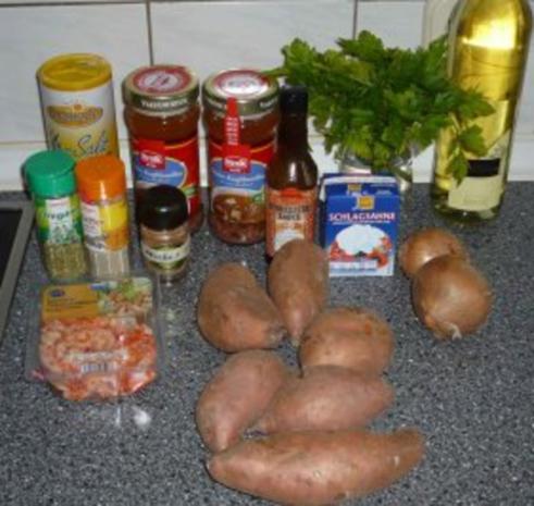 Süßkartoffel - Rahmsüppchen - Rezept - Bild Nr. 2