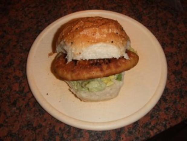 Crispy-Chicken-Burger - Rezept