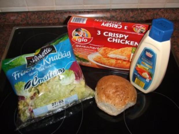 Crispy-Chicken-Burger - Rezept - Bild Nr. 3
