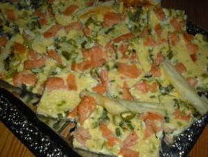 Lachskuchen - Rezept