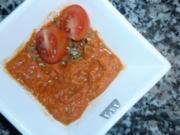 Chili-Ingwer-Tomatencreme - Rezept