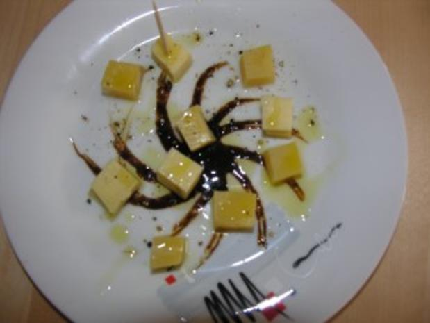 Marinierter Käse - Rezept