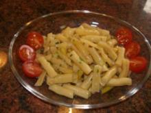 Salatbar:  gelber BOHNENSALAT - Rezept