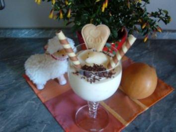 Dessert - Quark......... SCHNEEROSE... ....Rezept 300 - Rezept